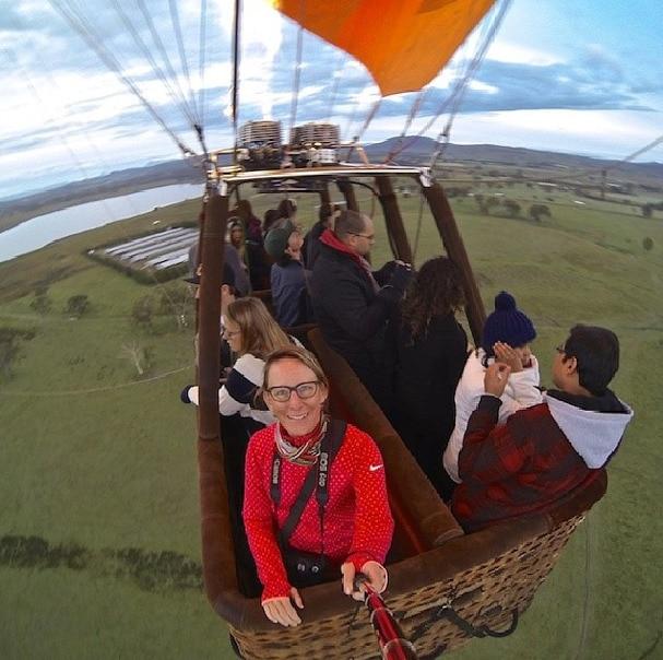 hot air balloon gold coast