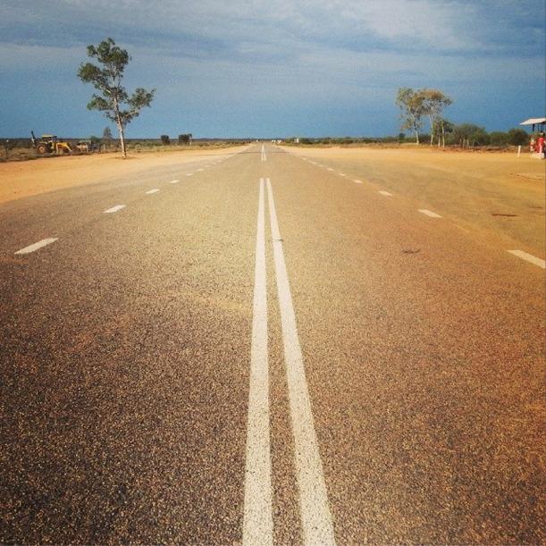 Stuart Highway Australia