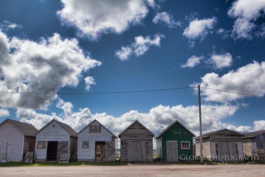 Fishing Huts Maritime Canada