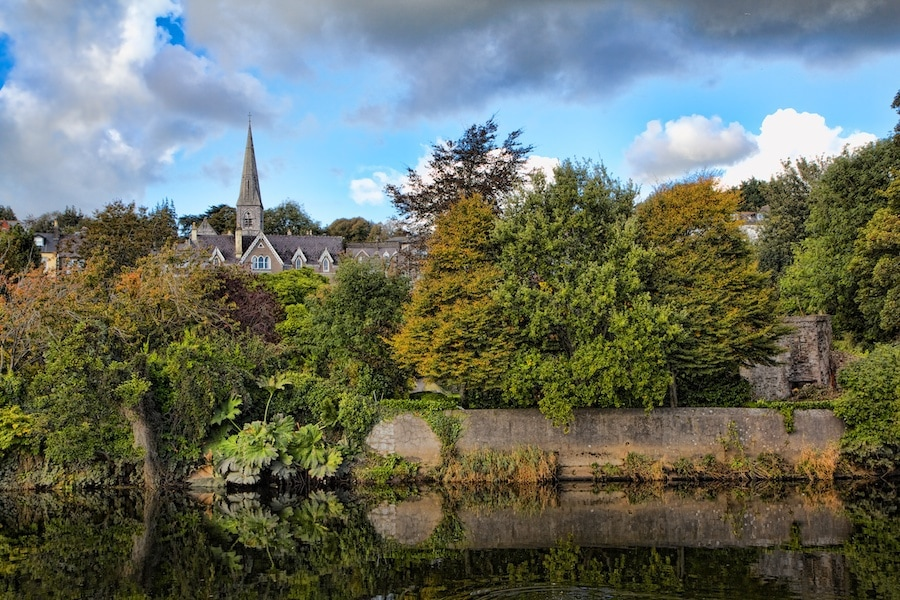 Walking Map Cork City Ireland
