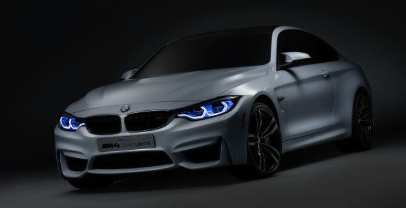 BMW M4 Concept Iconic Lights – bright ideas for enhanced driving pleasure.