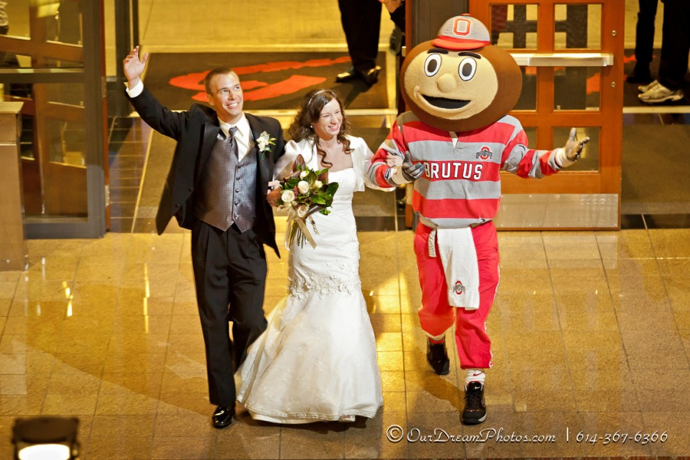 The reception following the wedding of Michael Merz and Laura Watson photographed Saturday evening November 12, 2011 at Blackwell Center on the Ohio State University Campus . (©James DeCamp | http://OurDreamPhotos.com | 614-367-6366)