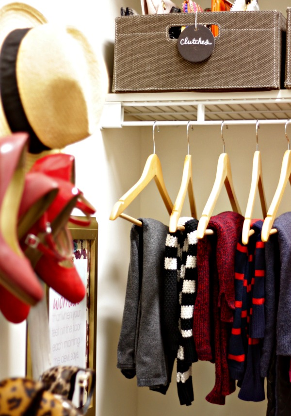 master closet - hers