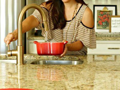 new kitchen faucet