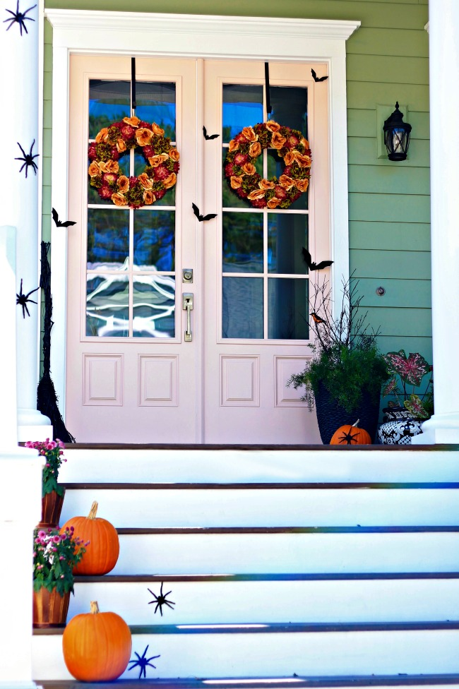 Not So Spooky Halloween Front Door