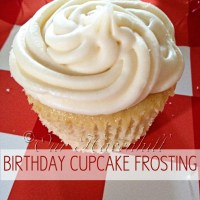 Recipe: Birthday Cupcake Buttercream Frosting