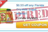 New Florida Crystals Printable Coupon