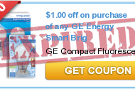 $1/1 GE Smart Bulb Printable Coupon