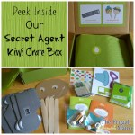 Kiwi's Crate Box of Fun – Secret Agent!