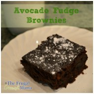 Fudgy Avocado Brownie Recipe