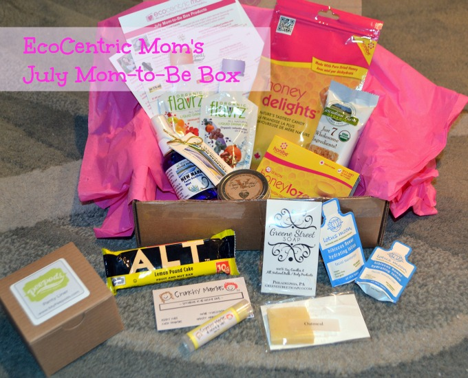 EcoCentric Mom to be July Box
