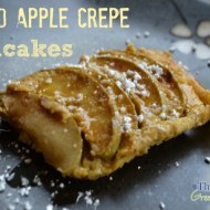Baked Apple Crepe Pancake Recipe