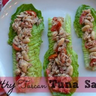 Light & Healthy Tuscan Tuna Salad Recipe