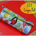 DIY Kids Gift: Crayon Roll