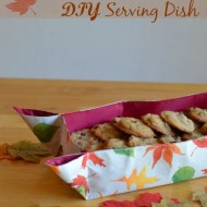 $1 diy Serving Dish {from a placemat}