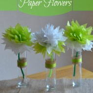 How to Make Paper Flowers from Tissue Paper
