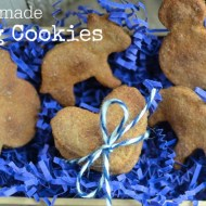 Simple Homemade Dog Cookies