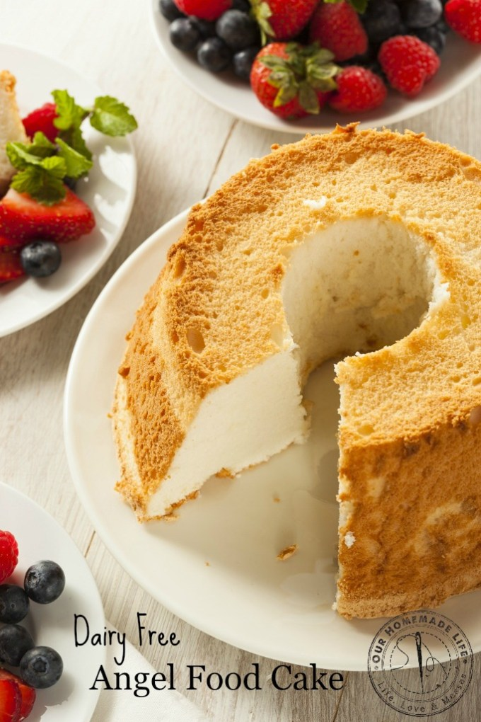 how to make angel cake from scratch