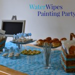 Painting + Children = A Need for WaterWipes