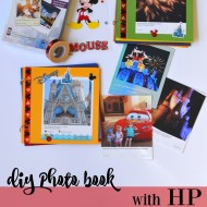 Easy Kid Craft Paper Mini Photo Books