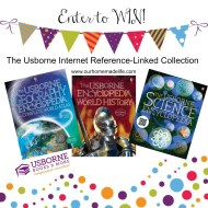 Usborne Internet-Linked Encyclopedia Collection Giveaway