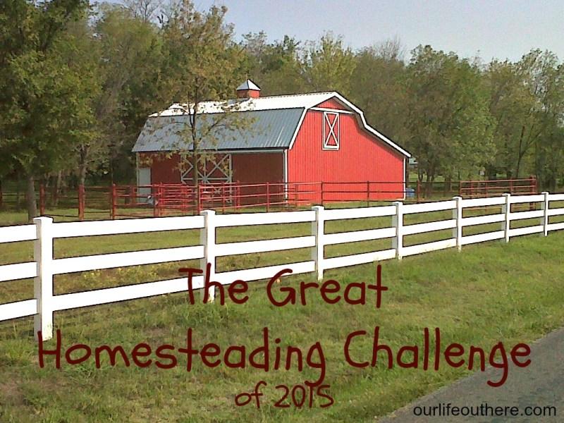 Homesteading Challenge
