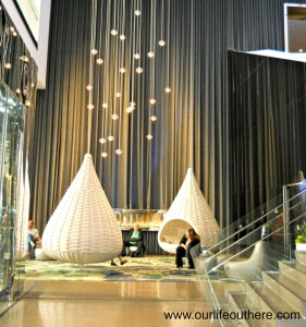 Hotel in MN lobby