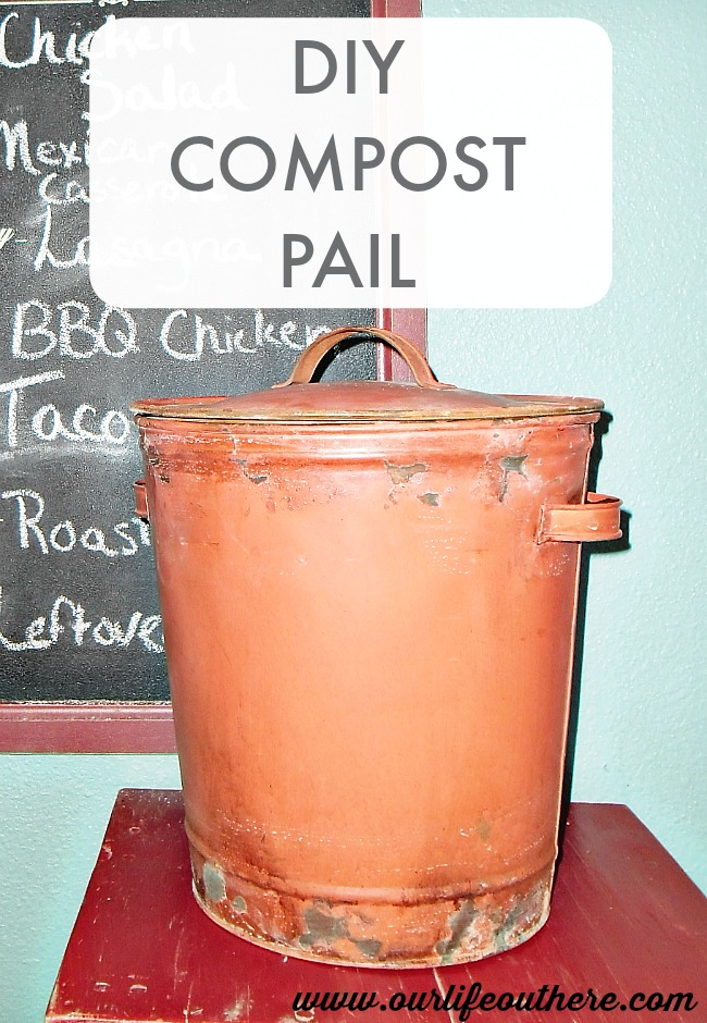 HOW TO MAKE COMPOST BUCKET