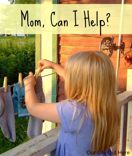 "Do you cringe when your toddler wants to ""help"" you around the house? Read why you should let them help and how to deal with the messiness. #parenting #momhacks #toddlers"