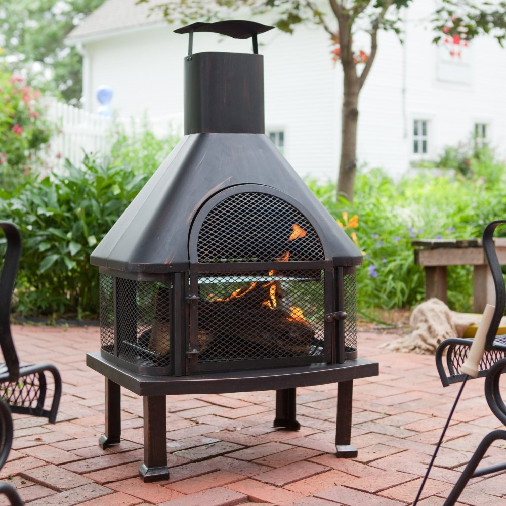 Patio Fireplaces For Wood Burning