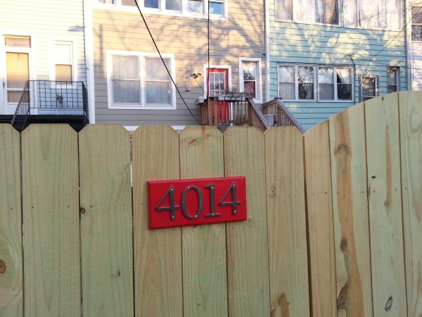 rear fence address plate 2