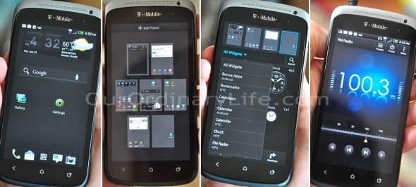 TMobile HTC One S Android 4.0 Ice Cream Sandwich Screenshots