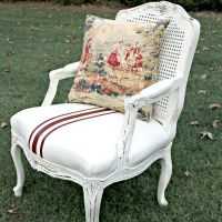 Chalk Painted French Chair