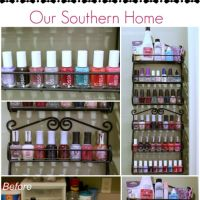 Quick and Easy Nail Polish Organizing