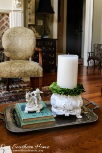 French Farmhouse Candle Holder