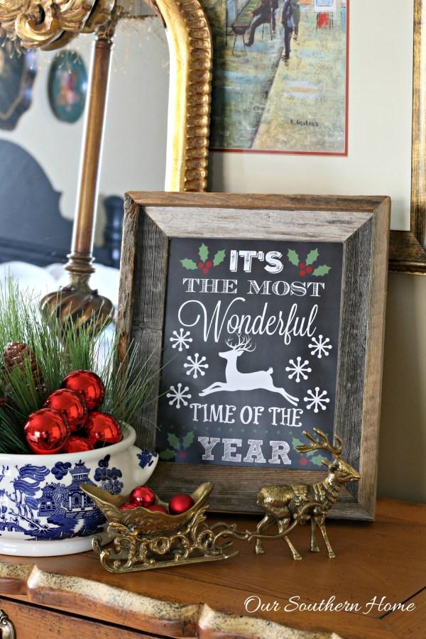 WONDERFUL Christmas Printable