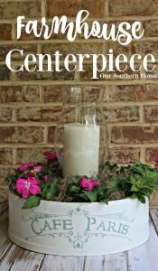 Farmhouse Style Centerpiece