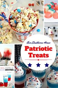 Patriotic Treats and Inspiration Monday