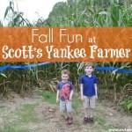 Fall Fun at Scott's Yankee Farmer