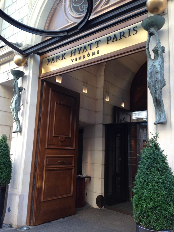 Park Hyatt Paris-Vendome Entrance
