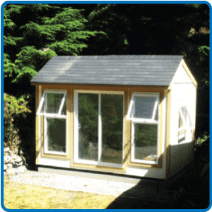 Westcoast Custom: 8' x 13' Saltbox Studio