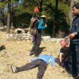 Trainees reach casualty point