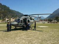 """""""Dhruv"""" IAF helicopter"""