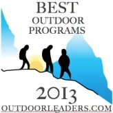 BEST OUTDOOR PROGRAMS; ROP LIST 2013 BADGE