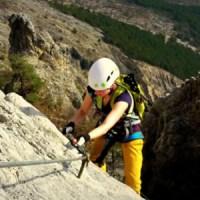 """Die """"Tiramisu-Ostwand"""" oder warum ich den Knüppel-Klettersteig Che Guevara so liebe"""