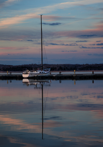 This is the sailboat shot I was originally after.