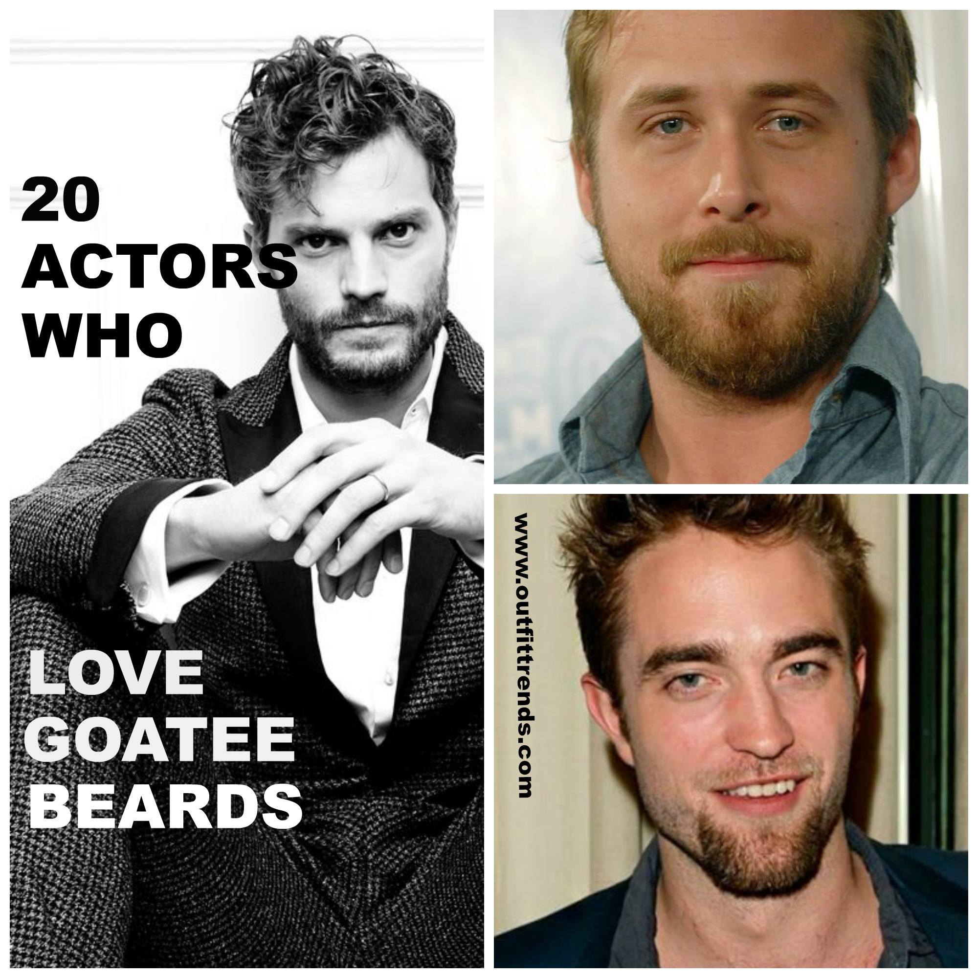 Celebrities Goatee Styles – These 20 Actors Who Love Goatees