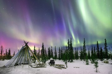 russian northern lights