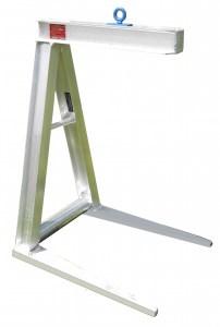 2000-42-27 - crane attachments, crane pallet forks, pallet lifter, pallet forks, aluminum