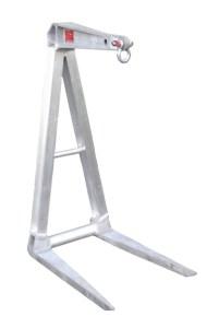 3000-60-30 - crane attachments, crane pallet forks, pallet lifter, pallet forks, aluminum
